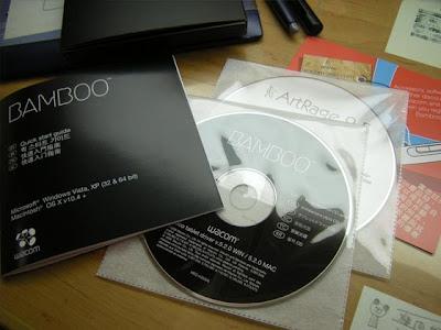 安裝光碟們