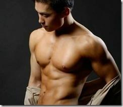 Sexy Asian Man