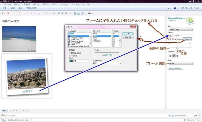 Polaroid Pictureの使い方