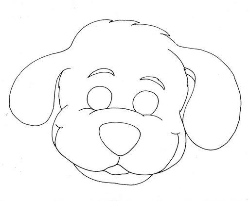 Dibujos de de mascaras de perros - Imagui
