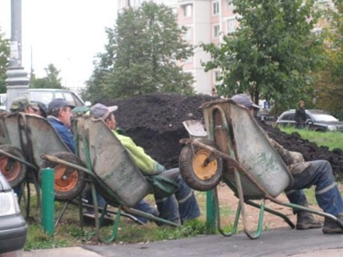 obreros descansando (2)