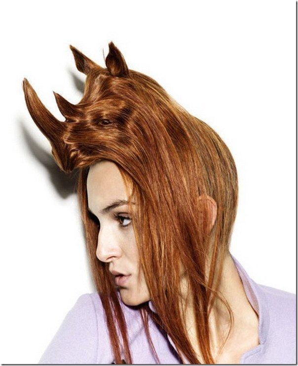 peinados con animales en la cabeza (9)