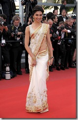 deepika-padukone-in-saree-at-cannes-2010