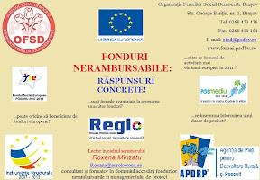 logo Fonduri nerambursabile: răspunsuri concrete!