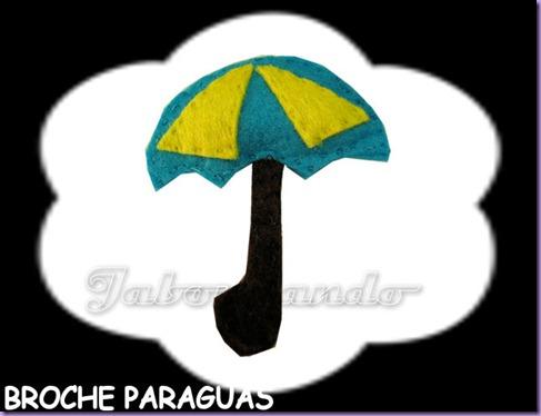 Broche paraguas