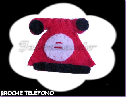 BROCHE TELÉFONO