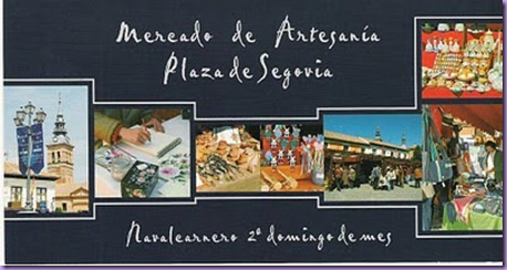 mercado artesania Navalcarnero