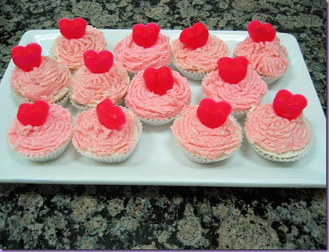 bandeja de cup cakes