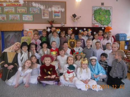 uczniowie klasy 1e mieli okazję podziwiać swoich młodszych