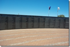 HMAS Sydney II Memorial - Wall of Names