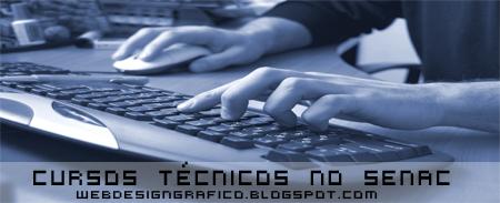 cursos técnicos no Senac