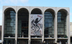 The Metropolitan Opera House [Photo by the author, 02.2010]
