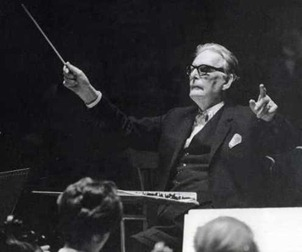 Otto Klemperer conducting Beethoven's MISSA SOLEMNIS in London