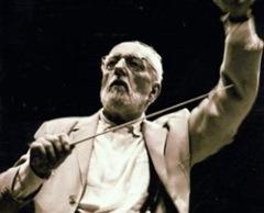 Ernest Ansermet rehearsing with L'Orchestre de la Suisse Romande