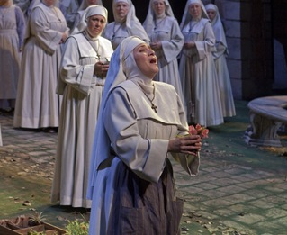 Patricia Racette as Suor Angelica at the Metropolitan Opera [Photo by Ken Howard]