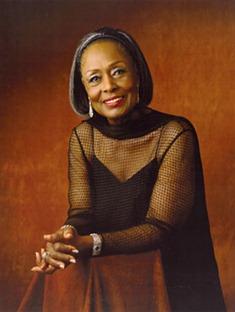 American mezzo-soprano Shirley Verrett, 1931 - 2010