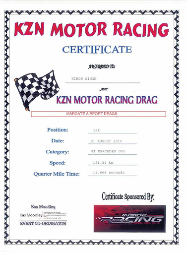 (KZN Motor Racing Drag,