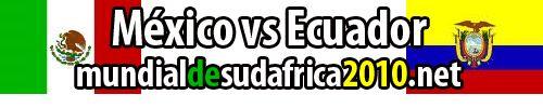 canales mexico vs ecuador
