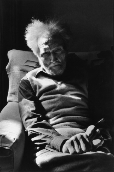 Ezra Pound, foto by Henri Cartier-Bresson