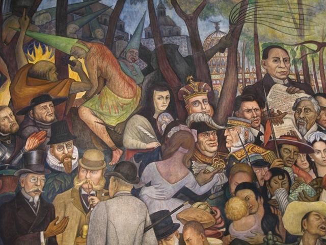 Diego Rivera, Sueño de una tarde dominical en la Alameda Central