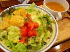 【渋谷ランチ】タコスオムライス(MON's Jr. CAFE)