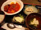 【渋谷ランチ】あぐーハンバーグ定食(沖縄'n 道玄)