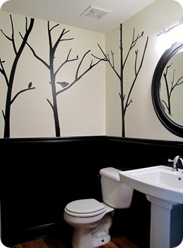 powder room remodel 008