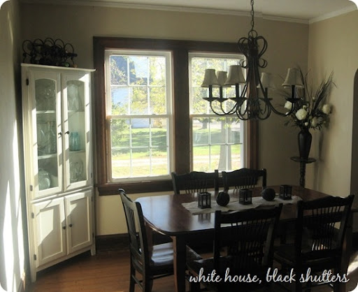 Paint Colors Dark Wood Trim Iammyownwife Com Diningroom My Trim Is Not Bad  I Have This Beautiful Dark BIG Through The Dining Room Best Color.