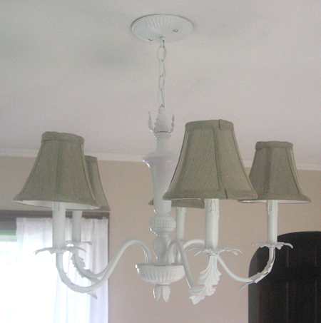 White Chandeliers and Front Room Transformation - white house ...:White Chandeliers and Front Room Transformation,Lighting