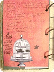 journal a new page birdcage