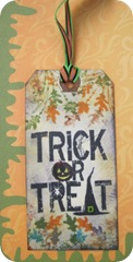 halloween trick or treat tag