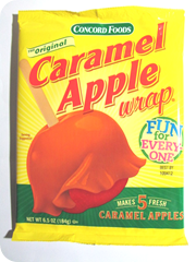 caramel apple package