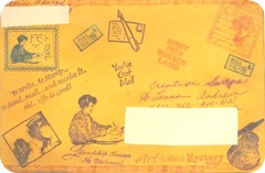 Mail art envy front