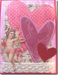valentine triple heart cupid