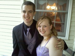 katie and matt's SR prom pic 2011