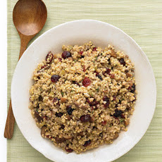 Millet, Bulgur, and Chestnut Stuffing