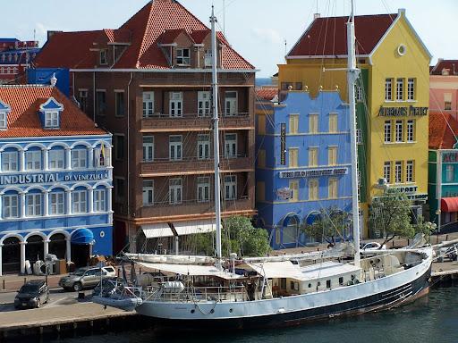 casas de colores en Curaçao