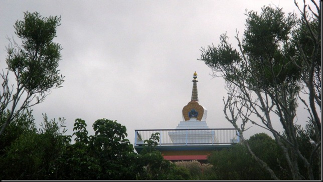 stupa from road