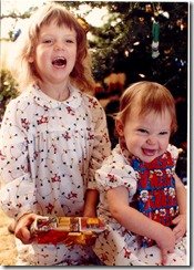 1984-12 Sela &amp; Robin XMas
