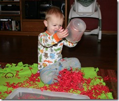 2011-02-07 Valentine&#39;s Sensory Bin (4)