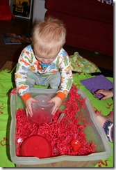 2011-02-07 Valentine&#39;s Sensory Bin (7)