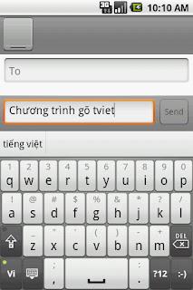 gotiengviet android GoTiengViet Android   Bộ gõ Tiếng Việt thông minh cho điện thoại Android