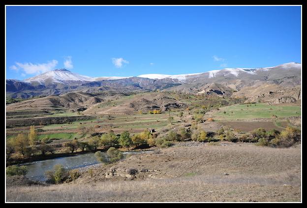 Путешествие в Грузию 2010. Прогулка в ноябре на машине
