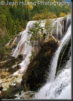 Pearl Shoal Falls, Jiuzhaigou, Sichuan, China