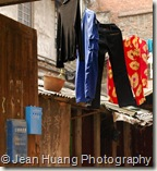 Hang-drying Clothes
