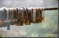 Can you lock up my heart - Zhangjiajie, Hunan, China
