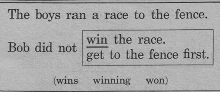 Bob didn't win