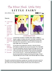 Little Fairy Pattern