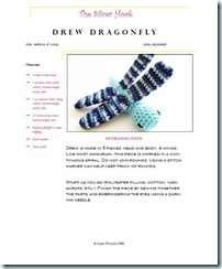 drew dragonfly pattern