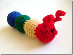 Calla Caterpillar Amigurumi (handmade, yarn, plush crocheted doll)